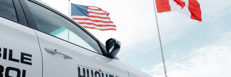 Hughes Bridge Flags